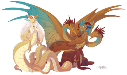 Typhon and Echidna