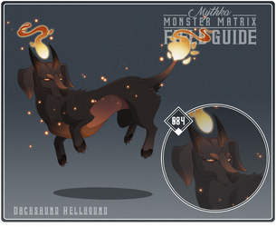084 - Dachshund Hellhound by Mythka