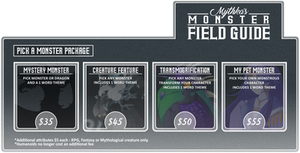 July Monster Field Guide -CLOSED-