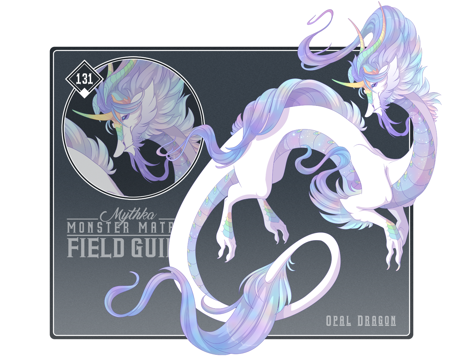 131 - Opal Dragon by Mythka