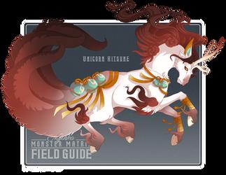 140 - Unicorn Kitsune by Mythka