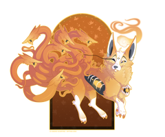 #29 - Lovecraft Kitsune by Mythka