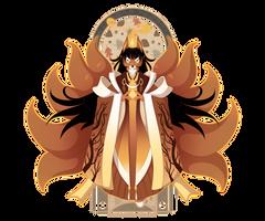 21 - Bonfire Kitsune by Mythka