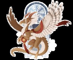December 18 - Hawk Dragon by Mythka