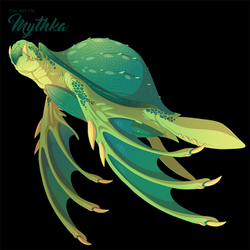 Sea Turtle - Commission by Mythka