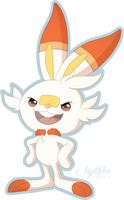 Scorbunny by Mythka
