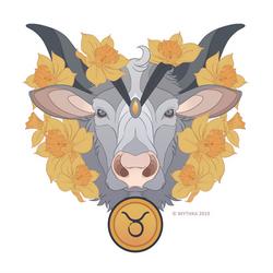 Taurus Sticker - Patreon Reward