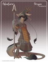 051 - (Adventurer) Dragon Warrior by Mythka