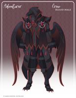056 - (Adventurer) Crow Blood Mage by Mythka