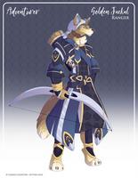 059 -  (Adventurer) Golden Jackal Ranger by Mythka