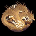 King Ghidorah by Mythka