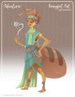 062 - (Adventurer) Honeypot Ant Alchemist by Mythka