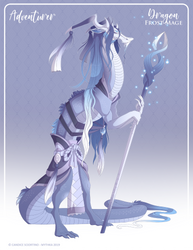 064 - (Adventurer) Dragon Frost Mage by Mythka