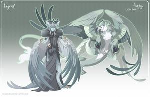 065 - (Legend) Harpy Lich Lord by Mythka
