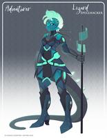 069 - Lizard Spellhacker by Mythka