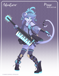 071 - (Adventurer) Mouse Rockstar by Mythka