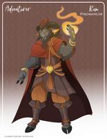 072 - (Adventurer) Ram Pyromancer by Mythka