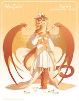 075 - (Adventurer) Wyvern Hanahaki Priestess by Mythka