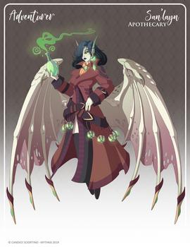 076 - (Adventurer) San'layn Apothecary by Mythka