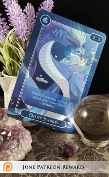 June Patreon Reward Art Card