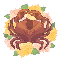 Cancer - Patreon Zodiac Sticker