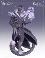 080 - (Adventurer) Rakshasa Mesmer by Mythka
