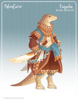 082 - Pangolin Blade Dancer by Mythka