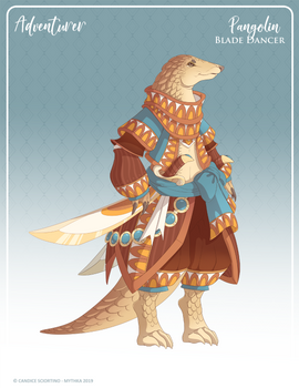 082 - Pangolin Blade Dancer