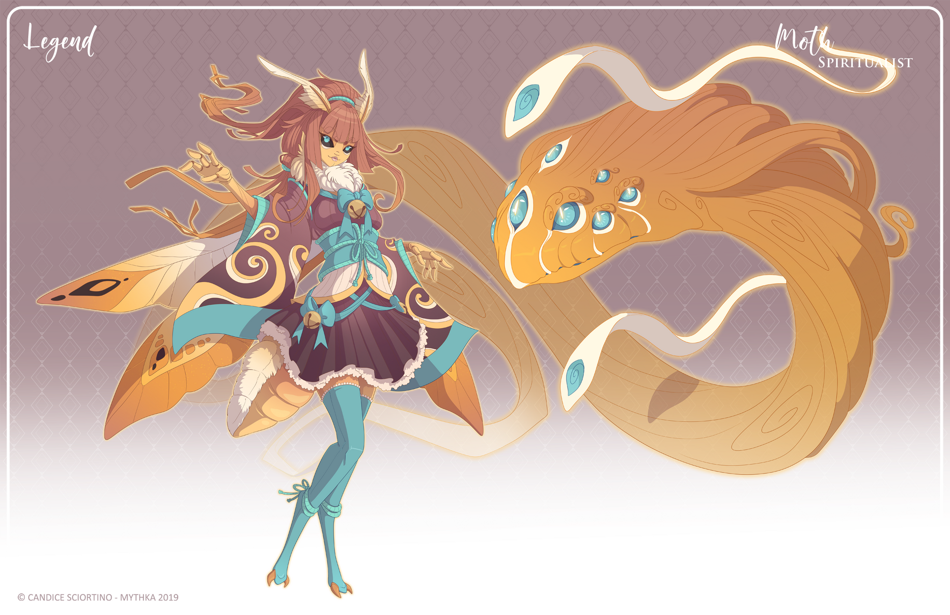 084 - (Legend) Moth Spiritualist by Mythka on DeviantArt