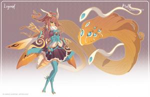 084 - (Legend) Moth Spiritualist by Mythka