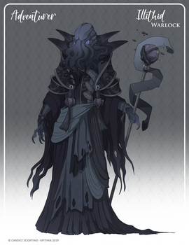 111 - (Adventurer) Illithid Warlock