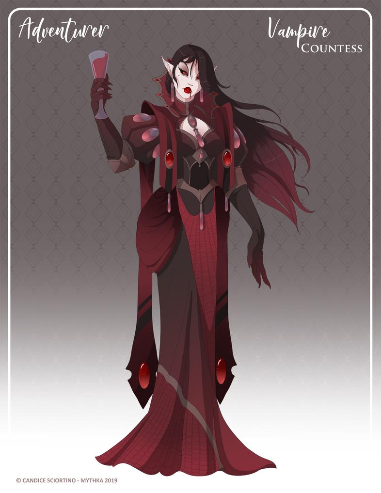 122 - (Adventurer) Vampire Countess by Mythka on DeviantArt