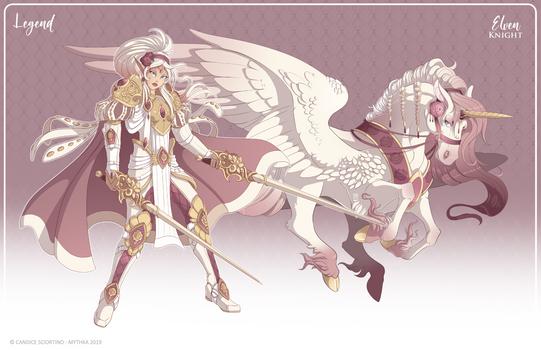 123 - (Legend) Elven Knight
