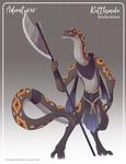 141 - (Adventurer) Rattlesnake Barbarian