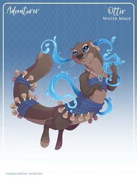 142 - (Adventurer) Otter Water Mage