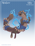 142 - (Adventurer) Otter Water Mage