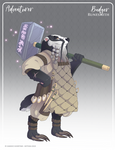 143 - (Adventurer) Badger Runesmith