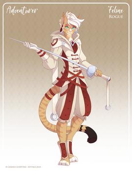 144 - (Adventurer) Feline Rogue