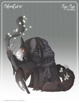 147 - (Adventurer) Aye Aye Witch