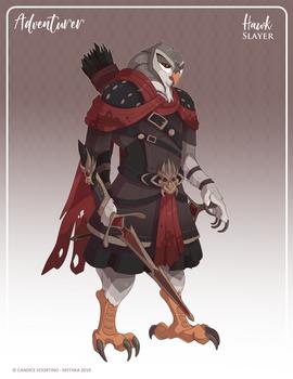 148 - (Adventurer) Hawk Slayer
