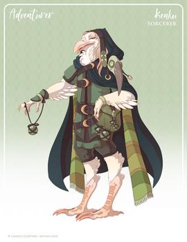 156 - (Adventurer) Kenku Sorcerer