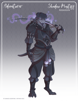 157 - (Adventurer) Shadow Mastiff Assassin