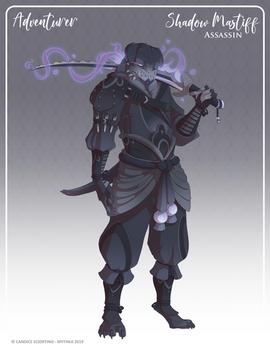 157 - (Adventurer) Shadow Mastiff Assassin