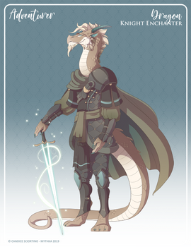 158 - (Adventurer) Dragon Knight Enchanter