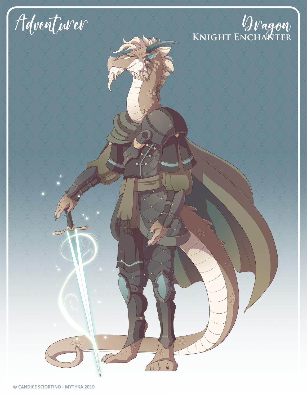 158 - (Adventurer) Dragon Knight Enchanter