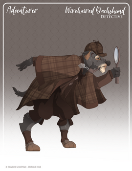 159 - (Adventurer) Wirehaired Dachshund