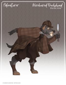 159 - (Adventurer) Wirehaired Dachshund