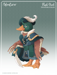 160 - (Adventurer) Plush Duck Swashbuckler