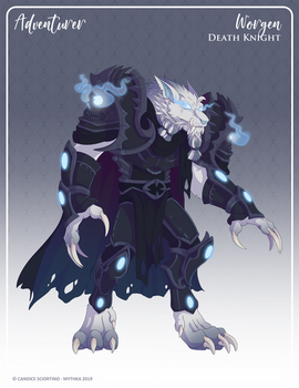 162 - (Adventurer) Worgen Death Knight