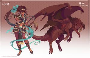 165 - (Legend) Djinn Priestess (FIN)